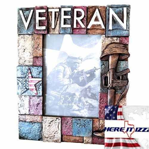United States Veteran 4x6 Photo Frame
