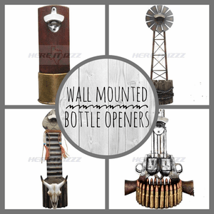 Wall Mounted Bottle Openers