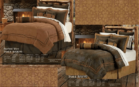 Barbed Wire Comforter Sets