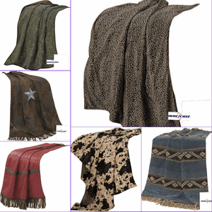 Western Blankets and Throws