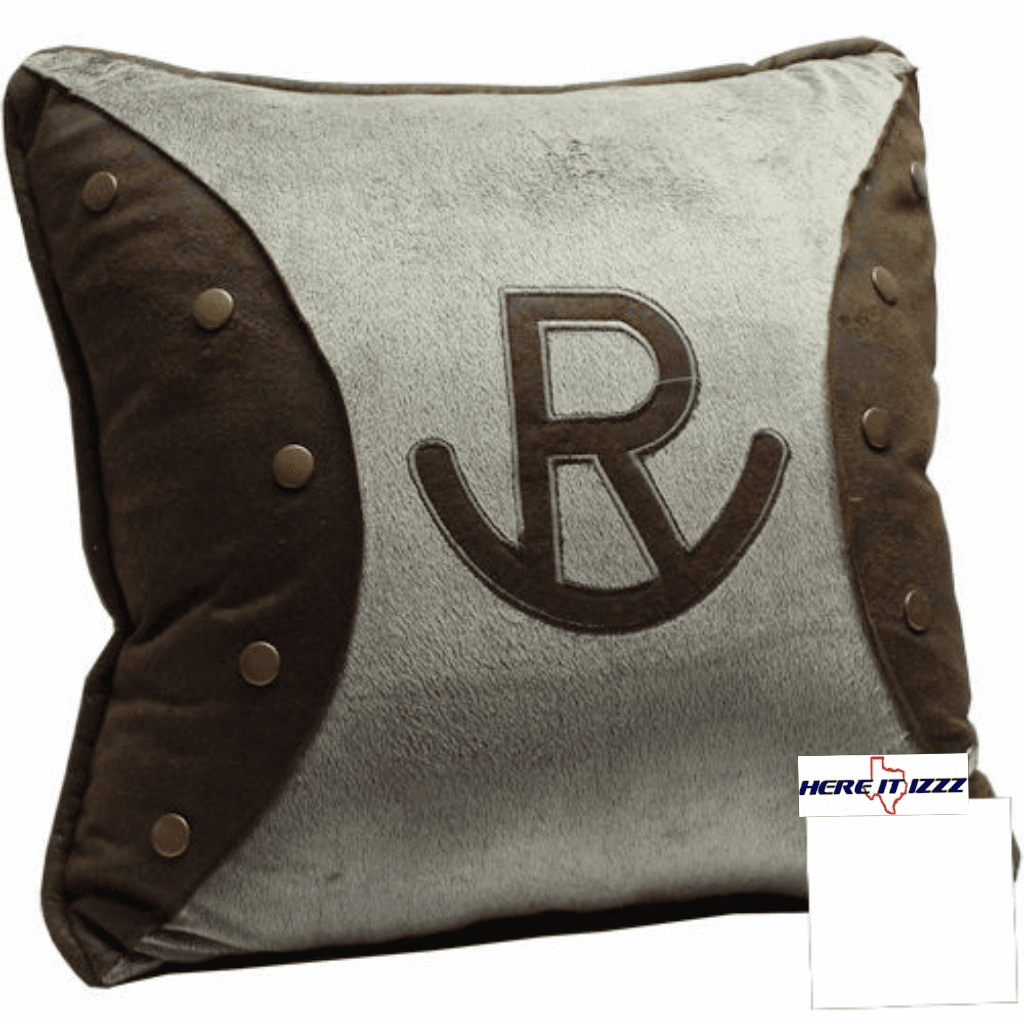 Western Cattle Brand Pillow
