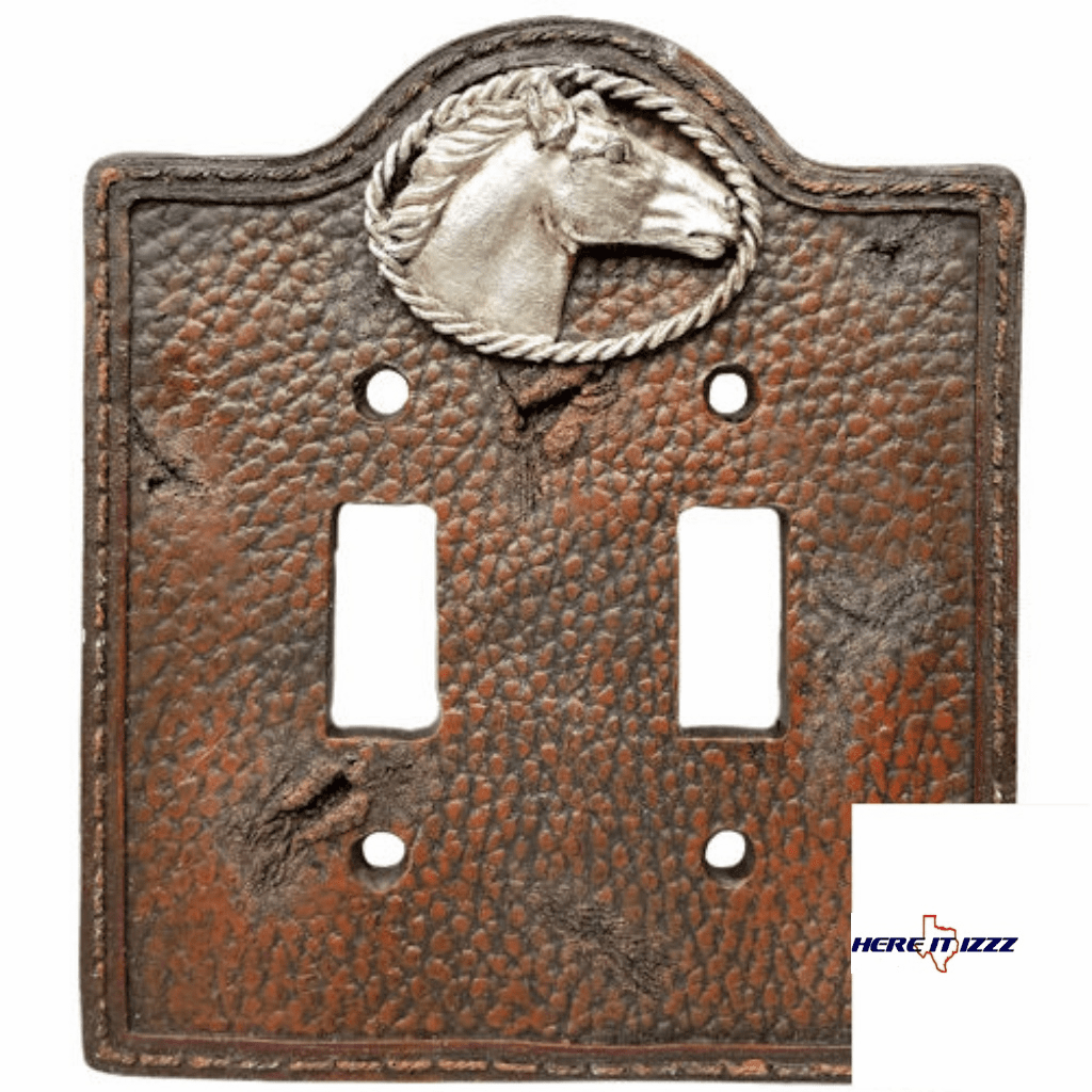 Western Horse Head Double Switch