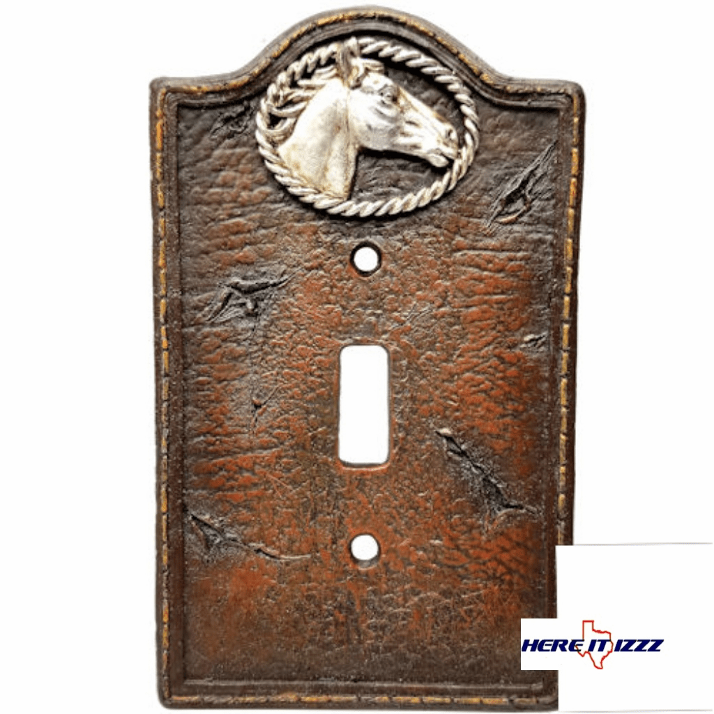 Western Horse Head Single Switch