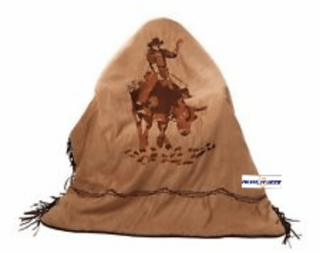 Western Throw Blanket Bull Riding