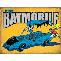 Batman - The Batmobile Tin Signs