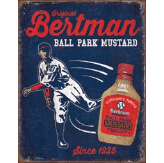 Bertman Ball Park Mustard Tin Signs