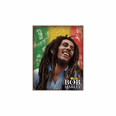Bob Marley - Mosaic Tin Signs