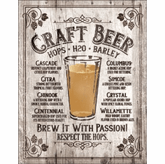 Brew It - Passion Tin Signs