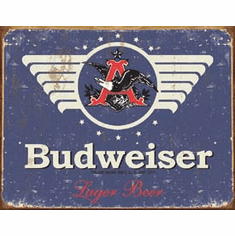 Budweiser 1936 Logo Tin Signs