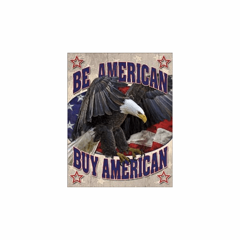 Buy American Tin Signs