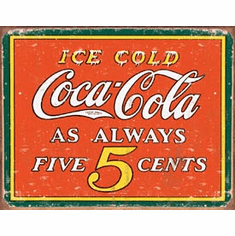 COKE - Always 5 Cents