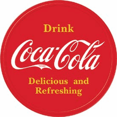 COKE Button Logo