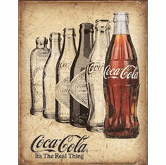 COKE - The Real Thing Tin Signs