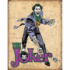 DC Comics - The Joker Tin Signs