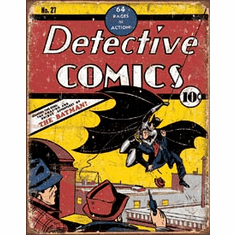 Detective Comics No27 Tin Signs