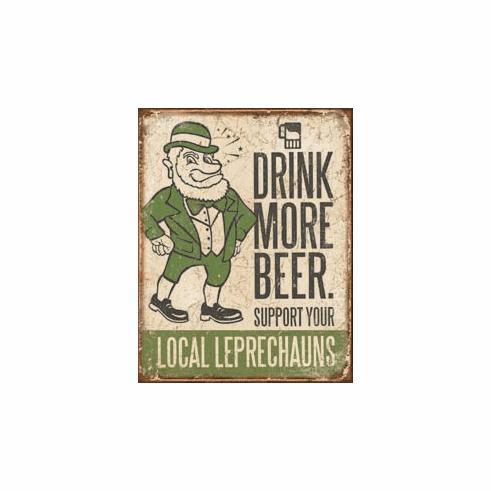 Drink More Beer Tin Signs