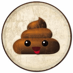 Emoji - Poop Tin Signs
