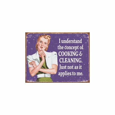Ephemera - Cooking and Cleaning