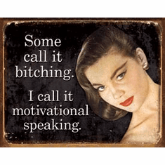 Ephemera - Motivational Speaking