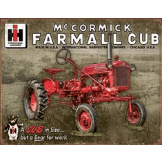 Farmall Club Tin Signs