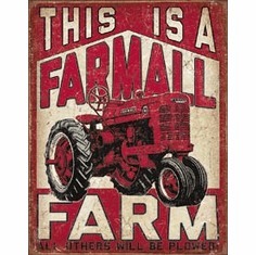Farmall Farm Tin Signs