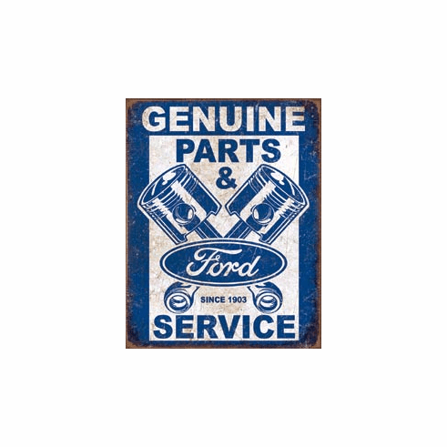Ford Service - Pistons Tin Signs