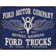 Ford Trucks - 100 Years Tin Signs