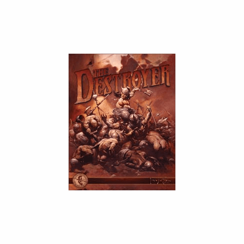 Frazetta - The Destroyer Tin Signs