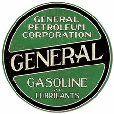 General Gasoline Tin Signs