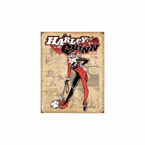 Harley Quinn - Retro Tin Signs