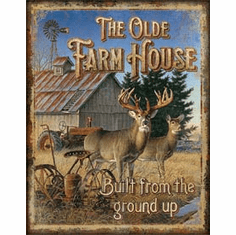 JQ - Olde Farmhouse Tin Signs