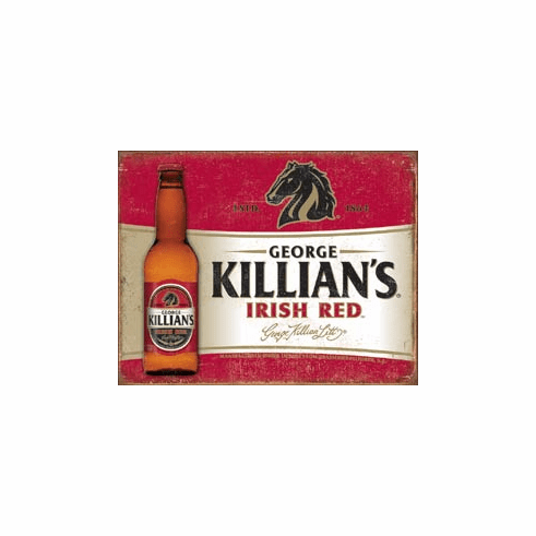 Killian's Red Tin Signs