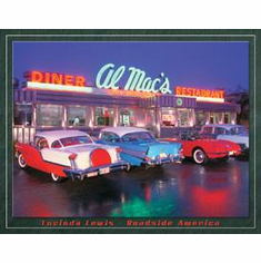 Lewis - Al Mac Diner Tin Signs