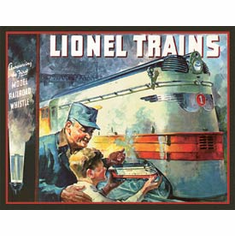 Lionel 1935 Cover Tin Signs