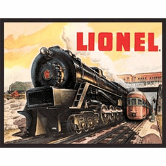 Lionel 5200 Tin Signs
