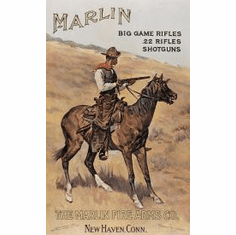 Marlin/ Cowboy on Horse