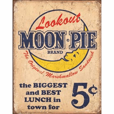 Moon Pie - Best lunch Tin Signs