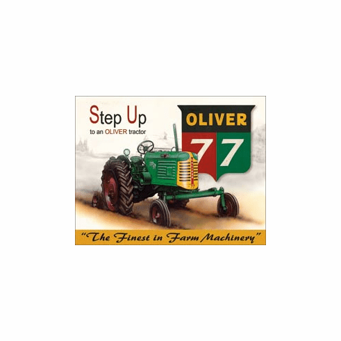 Oliver - 77 Tin Signs