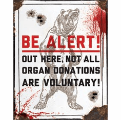 Organ Donor Tin Signs