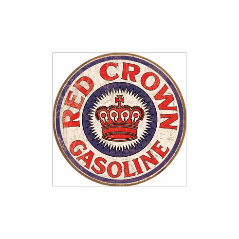 Red Crown Gas Tin Signs