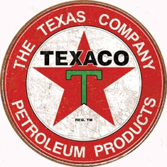 Texaco - The Texas Company Tin Signs