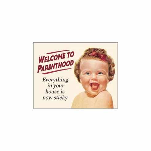 Welcome to Parenting Tin Signs