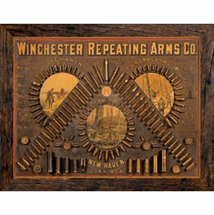 Winchester - Repeating Arms Tin Signs