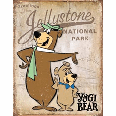 Yogi Bear - Jellystone Park Tin Signs