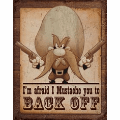Yosemite Sam Tin Signs