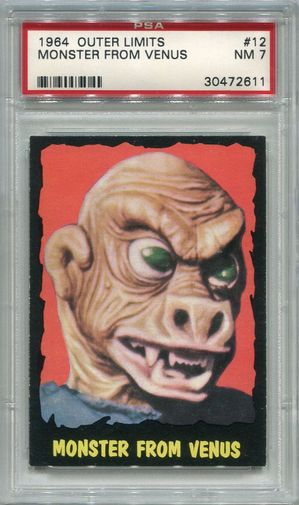 1964 Outer Limits - Monster From Venus #12 PSA 7 (2611)