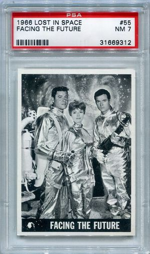 1966 Lost In Space - Facing The Future #55 PSA 7 (Last Card)