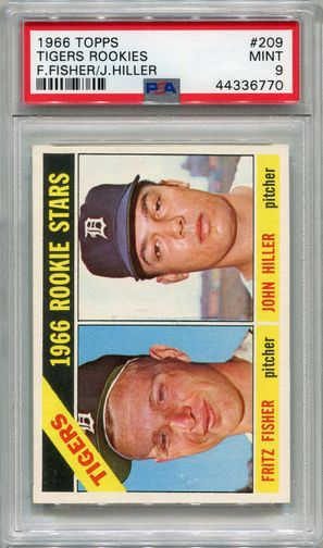 1966 Topps Tigers Rookies #209 PSA 9