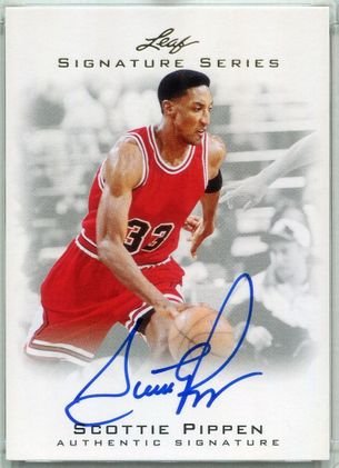 2012 Leaf Signature Series Scottie Pippen Autograph #BA-SP1