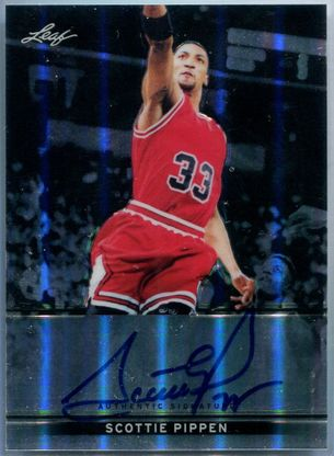 2013 Leaf Metal Scottie Pippen Autograph #BA-SP1 #50/50